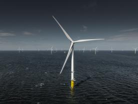 DONG Energy openend 258 MW Burbo Bank Extension Project in Liverpool Bay, UK.