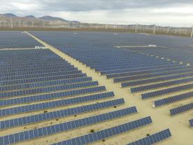 With Array Technologies and sPower two renewable energy giants announced a new partnership deal. (Photo: Array Technologies)