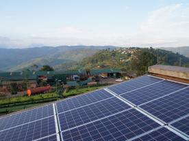 Even in remote regions the hybrid technology produces power in a reliable way. (Photo: BayWa r.e.)