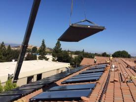 The installation of PV or solar heat might be obligatory soon. (Photo: Adroit)