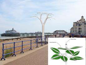 Tech meets art in a life-like 'energy tree' (graphic: Solar Botanic/S&WE)