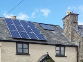 Like in most European countries solar thermal in the UK is not seen as an equal compared to photovoltaics. (Photo: The Solar Design Company)