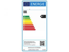 The label for old heating systems will look very similar to the label for new heat generators.
