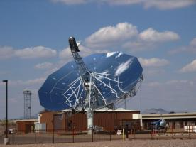 <b>The original plans to build a demonstration plant using the Southwest Solar dish have been delayed due to the downturn in the US energy market.</b><br><br><br><i>Photo: Southwest Solar</i>