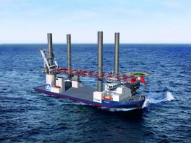 <b>Hochtief has given the order for the jack-up vessel Vidar to the Polish shipyard Crist in Gdynia.</b><br><i>Photo: Hochtief</i><br><br>