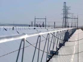 <b>The solar thermal power plant at Lebrija, Southern Andalusia, Spain. </b><br><br><i>Photo: Siemens</i><br><br>